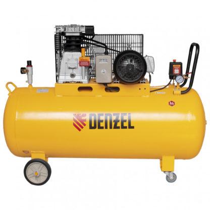 Компрессор Denzel DR3000/200, масляный ременной, 10 бар, производительность 520 л/м, мощность 3 кВт