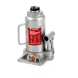 Домкрат гидравлический бутылочный, 12 т, h подъема 230-465 мм Matrix