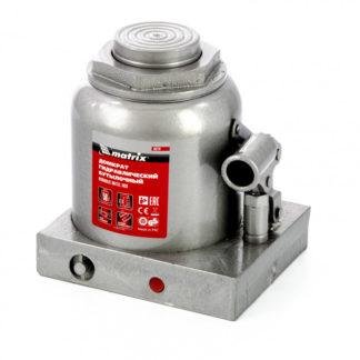 Домкрат гидравлический бутылочный, 50 т, h подъема 236-356 мм Matrix