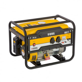 Генератор бензиновый Denzel PS 25, 2.5 кВт, 230 В, 15 л, ручной стартер