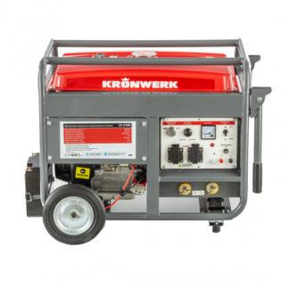 Бензиновая сварочная генераторная установка Kronwerk LK 210Е, 5.0 кВт, 220 В, бак 25 л, электростартер