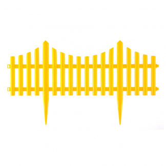 "Забор декоративный ""Гибкий"", 24х300 см, желтый, Россия Palisad"
