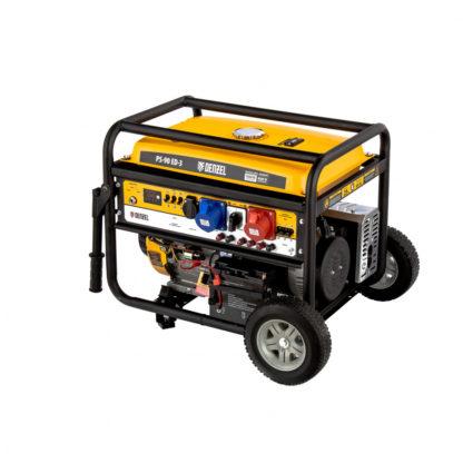 Генератор бензиновый Denzel PS 90 ED-3, 9.0 кВт, переключение режима 230 В/400 В, 25 л, электростартер
