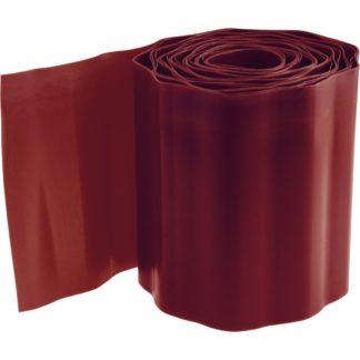 Бордюрная лента, 15х900 см, полипропиленовая, коричневая, Россия Palisad