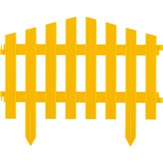"Забор декоративный ""Марокко"", 28х300 см, желтый, Россия Palisad"