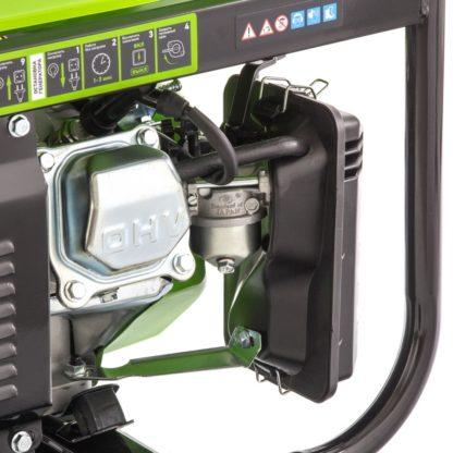 Генератор бензиновый Сибртех БС-2800, 2,5 кВт, 230В, четырехтактный, 15 л, ручной стартер