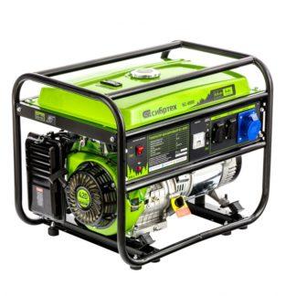 Генератор бензиновый Сибртех БС-8000, 6,6 кВт, 230В, четырехтактный, 25 л, ручной стартер