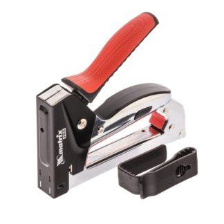 Степлер мебельный, стальной, быстрая загрузка, тип скобы 53, 6-10 мм, PRO Matrix