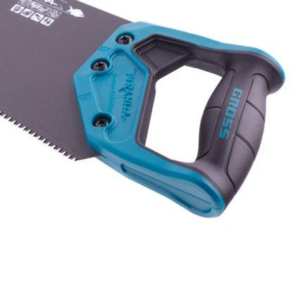 """Ножовка по дереву """"Piranha"""", 550 мм, 11-12 TPI, зуб-3D, каленый зуб, тефлоновое покрытие полотна, двухкомпонентная рукоятка Gross"""