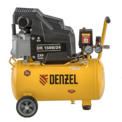 Компрессор воздушный Denzel DK1500/24, Х-PRO 1,5 кВт, 230 л/мин, 24 л