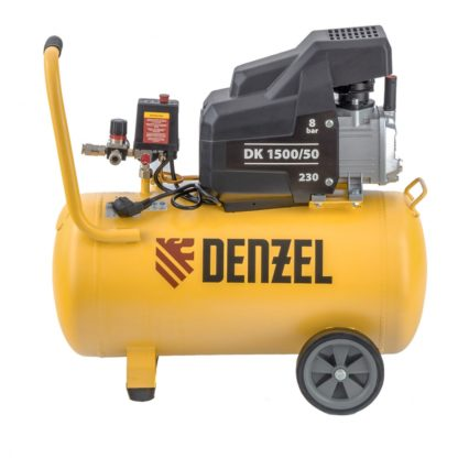 Компрессор воздушный Denzel DK1500/50, Х-PRO 1,5 кВт, 230 л/мин, 50 л