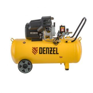 Компрессор воздушный Denzel DKV2200/100, Х-PRO 2.2 кВт, 400 л/мин, 100л