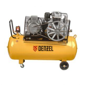 Компрессор Denzel DR5500/200, масляный ременный, 10 бар, производительность 850 л/м, мощность 5.5 кВт