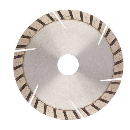 Диск алмазный, 115 х 22,2 мм, турбо-сегментный, сухая резка Gross