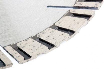 Диск алмазный, 150 х 22,2 мм, турбо-сегментный, сухая резка Gross