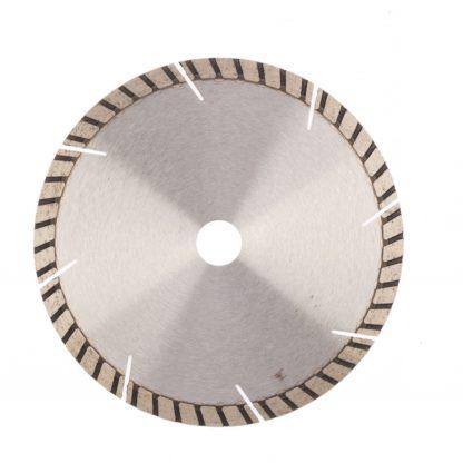 Диск алмазный, 180 х 22,2 мм, турбо-сегментный, сухая резка Gross