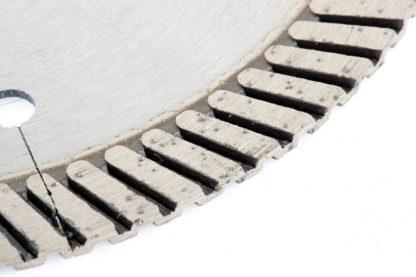 Диск алмазный, 150 х 22,2 мм, турбо с лазерной перфорацией, сухая резка Gross