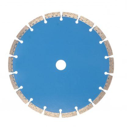 Диск алмазный, сегментный 230 х 22,2 мм, сухая резка Барс