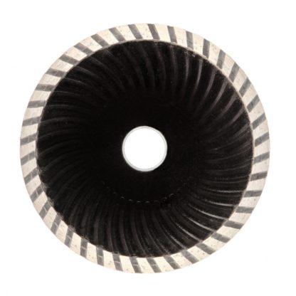 Диск алмазный, отрезной Turbo, 125 х 22,2 мм, сухая резка Sparta