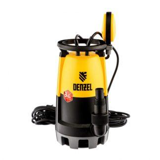 Дренажный насос для чистой и грязной воды DP600S, 600 Вт, напор 7 м, 13000 л/ч Denzel