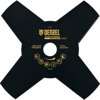 Диск для триммера, 230 х 25,4 мм, толщина 1,6 мм, 4 лезвия Denzel