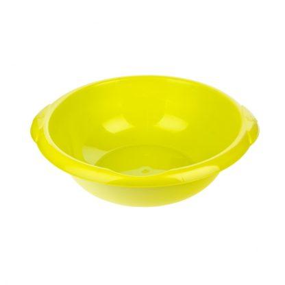 Таз пластмассовый круглый 18 л, зеленый, Россия Elfe