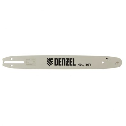 Шина для бензопилы DGS-4516, длина 40 см (16″), шаг 3/8″, паз 1,3 мм, 57 звеньев Denzel