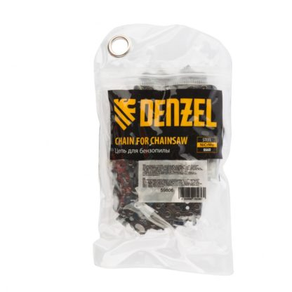 Цепь для бензопилы DGS-5820, шина 50 см (20″), шаг 0,325″, паз 1,5 мм, 76 звеньев Denzel
