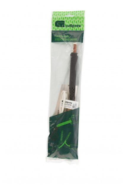 Паяльник электрический ЭПСН-03-100/220, деревянная ручка, Россия Сибртех