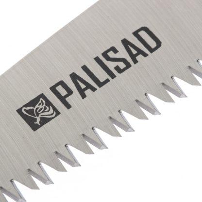 Пила садовая складная, 150 мм рабочая часть, пластиковая обрезиненная рукоятка, Palisad