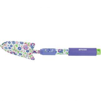 Совок посадочный широкий, 90 х 450 мм, стальной, удлиненная рукоятка, Flower Mint Palisad