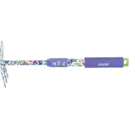 Мотыжка комбинированная, 65 х 415 мм, стальная, удлиненная рукоятка, Flower Mint Palisad