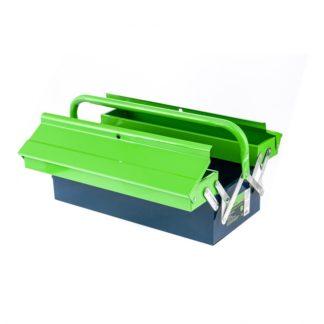 Ящик для инструмента, 430 х 200 х 160 мм, три секции, металлический Сибртех