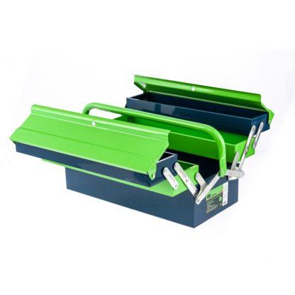Ящик для инструмента, 430 х 200 х 200 мм, пять секций, металлический Сибртех 90751