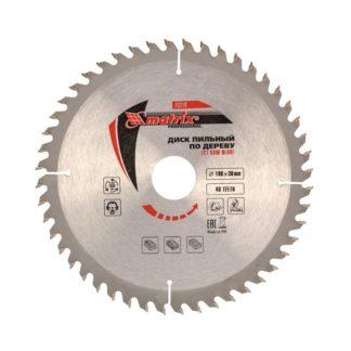 Пильный диск по дереву, 190 х 30 мм, 48 зубьев Matrix Professional