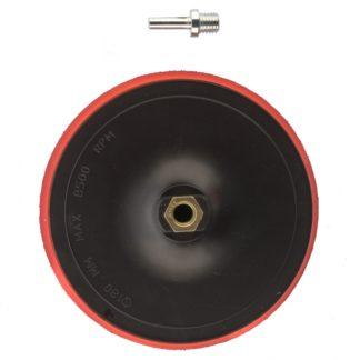 Насадка для дрели и УШМ с липучкой, 180 мм Matrix