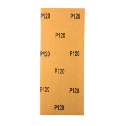 Шлифлист на бумажной основе, P 120, 115 х 280 мм, 5 шт., водостойкий Matrix