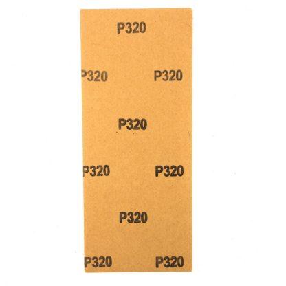 Шлифлист на бумажной основе, P 320, 115 х 280 мм, 5 шт., водостойкий Matrix