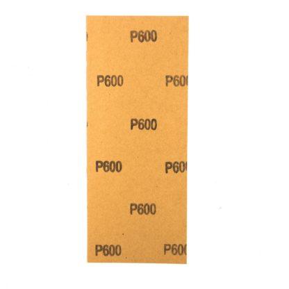 Шлифлист на бумажной основе, P 600, 115 х 280 мм, 5 шт., водостойкий Matrix