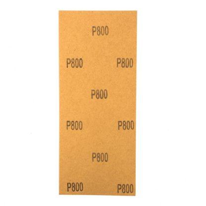 Шлифлист на бумажной основе, P 800, 115 х 280 мм, 5 шт., водостойкий Matrix