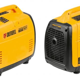 Генератор инверторный GT-2200iS, 2,2 кВт, 230 В, бак 4 л, закрытый корпус,  ручной старт Denzel