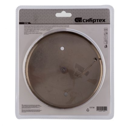 Сверло по керамической плитке и стеклу, 150 х 55 мм, шестигранный хвостовик, с центрующим сверлом Сибртех