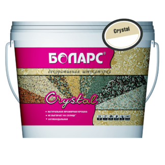Штукатурка минеральная CRYSTAL 0,5  (2100) 15 кг