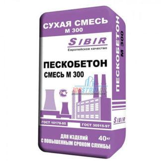 Пескобетон М300 «SIBIR»
