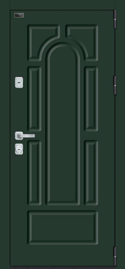 Green Stark/Nordic Oak (для стальных дверей)