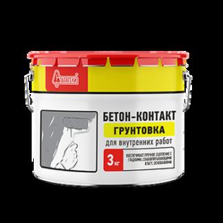 Грунтовка бетоноконтакт Старатели 3 кг