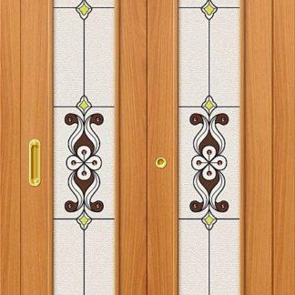 Л-12 (МиланОрех) для складных дверей
