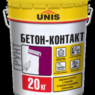 "Грунтовка Юнис ""БЕТОН-КОНТАКТ"" 20кг"