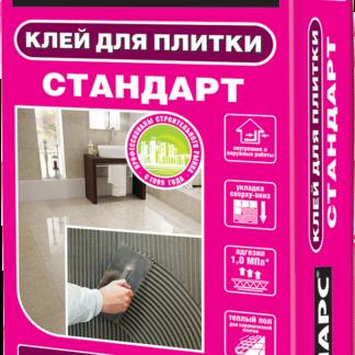 Клей для плитки СТАНДАРТ 25 кг Боларс